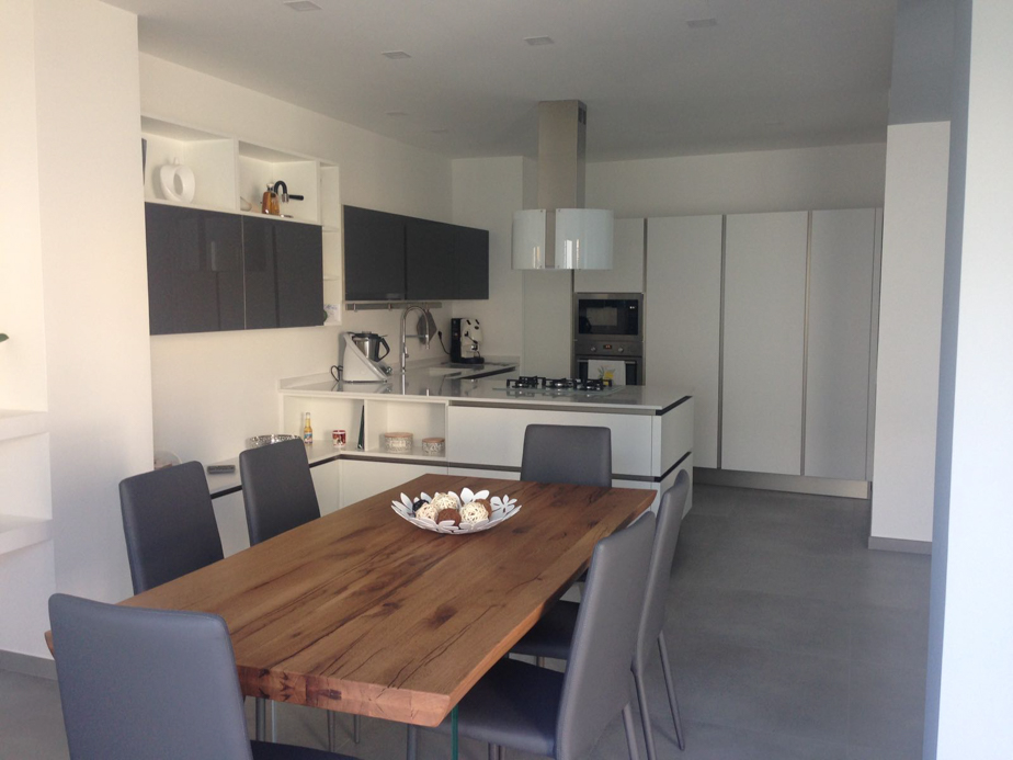 Tavoli Da Cucina Veneta Cucine.La Bellissima Veneta Cucine Oyster Riflex A Casa Di Giusy E Sebastiano