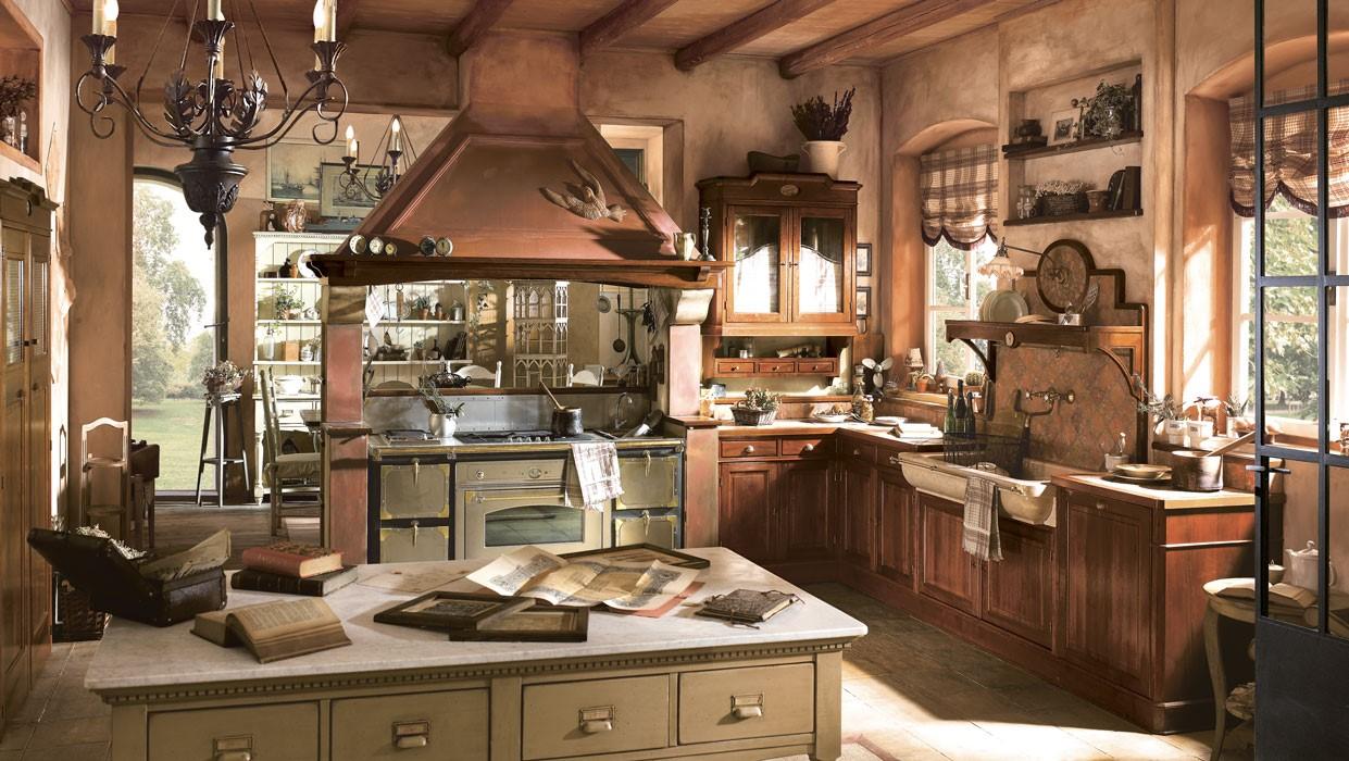 Idee arredamento cucina rustica for Arredamento rustico ikea