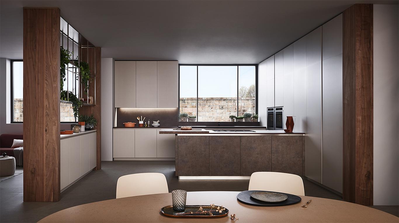Prezioso casa presenta lounge di Veneta Cucine