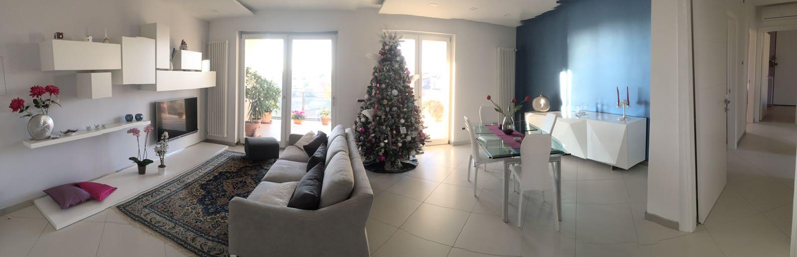A casa di Anna Claudia con Sergio Treglia