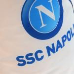 POUF S.S.C NAPOLI  - XL - BIANCO BLU NAVY