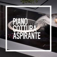 Piano cottura aspirante
