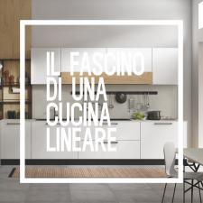 Il fascino di una cucina lineare