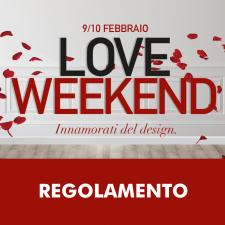 REGOLAMENTO LOVE WEEKEND
